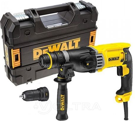 Перфоратор SDS-plus DEWALT D25144K-KS