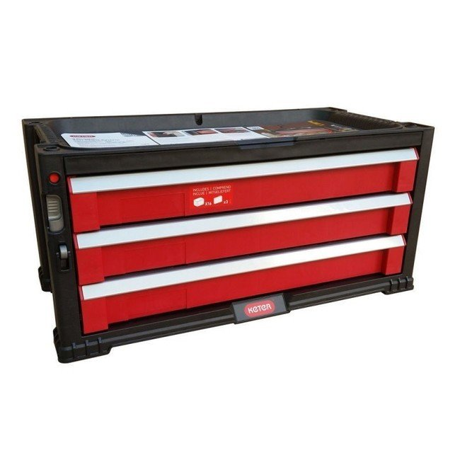 Ящик для инструментов Keter 3 Drawer Tool Chest 17199302